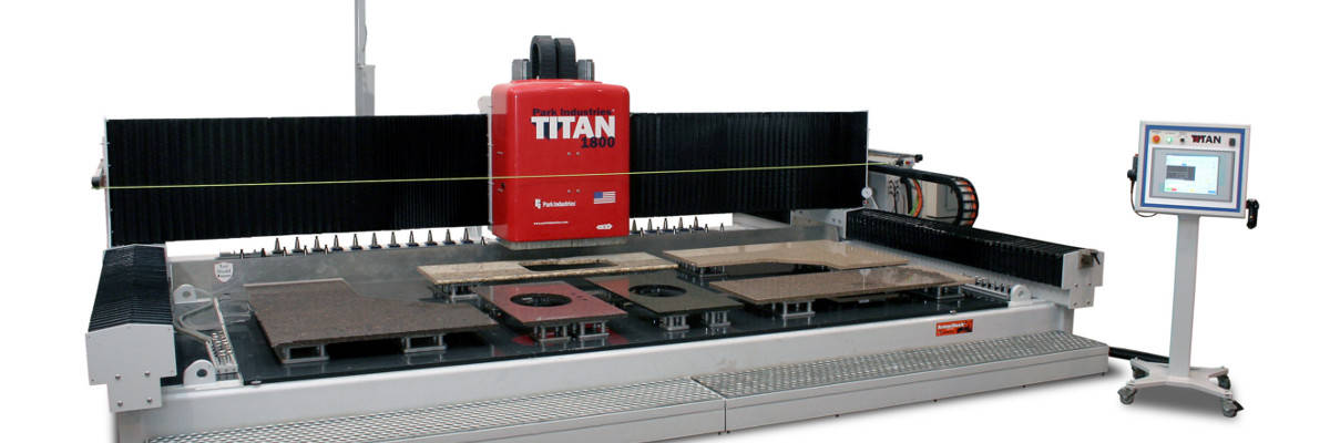 New Titan CNC Finishing Router